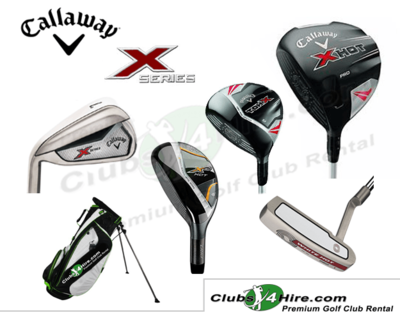 Callaway X415 X-Series Left Handed Set (5LG)