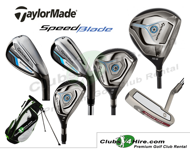 Taylormade SpeedBlade Senior Graphite Set (15RG)