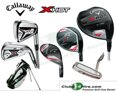 Callaway X Hot Pro Stiff Set (29RG)