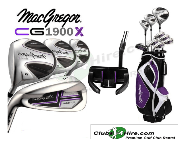 MacGregor CG1900X Ladies Left-Handed Set (MGLL)