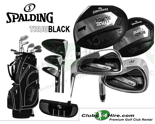 Spalding True Black Left-Handed Set (ST-LG)