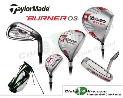 Taylormade Burner OS Graphite Set (22RG)